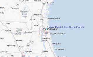 st johns river in florida map fulton johns river florida tide station location guide