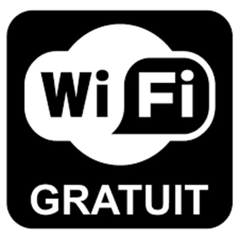 logo wifi gratuit Camping Vendée 5 étoiles Camping Le Pin Parasol