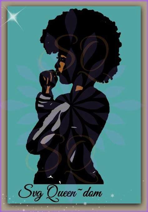 Afro Raglan afro svg curly hair beautiful
