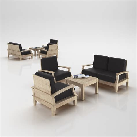scandinavian style armchairs scandinavian design armchairs set 3d model max obj 3ds c4d cgtrader com