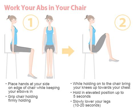 Desk Exercises For Abs by Exercise At Work Without Getting Embarrassed On The