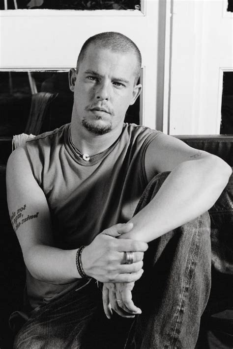 alexander mcqueen alexander mcqueen tattoo quot love looks not with the eyes but with the mind quot william