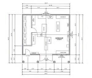 Workshop Floor Plans Cabinet Shop Floor Plans Shop Home Plans Ideas Picture