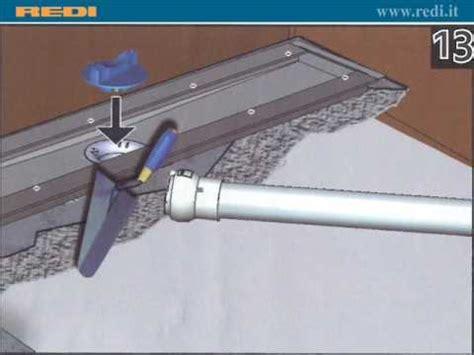 montaggio piatto doccia sopra pavimento doccia a pavimento
