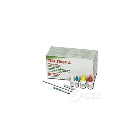 test streptococco gima test strep a streptococco farmacia igea