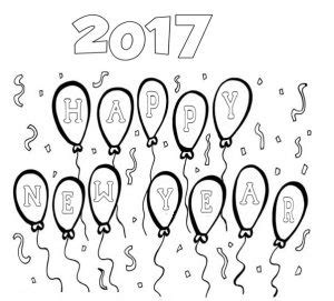 new year 2016 preschool worksheets happy new year coloring page crafts and worksheets for