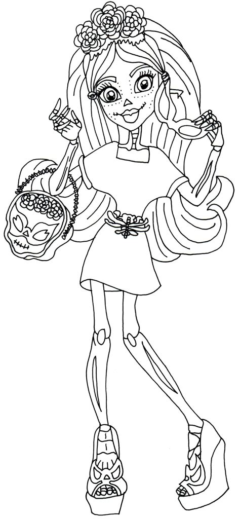 love monster coloring page free printable monster high coloring pages april 2014