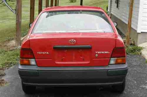 how do cars engines work 1996 toyota tercel interior lighting sell used 1996 toyota tercel 35 mpg automatic needs engine work in clearfield pennsylvania