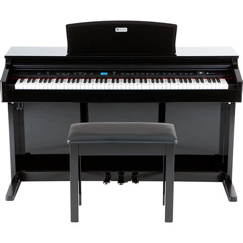digital piano bench williams overture 2 88 key console digital piano wpb