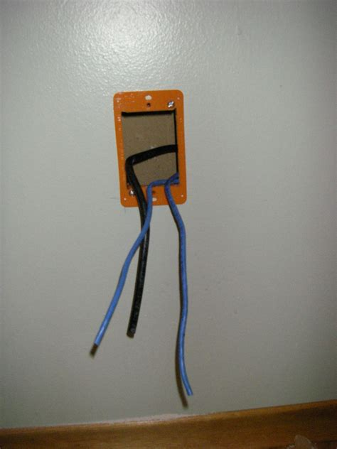 running low voltage wire electrical how do i mount this non standard wall plate