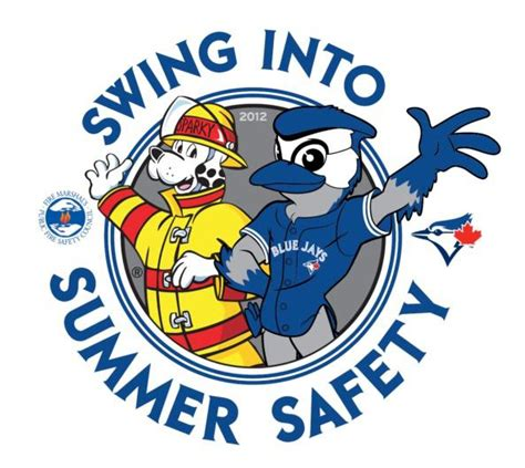 swing into swing into summer safety with the toronto blue jays