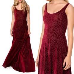 Prom dresses burned velvet maxi dress long dresses plus size women