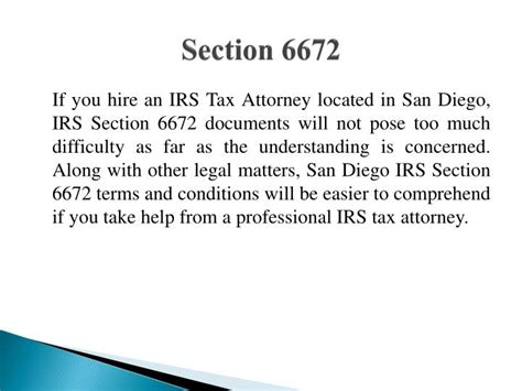 Professional Tax Which Section by Ppt 6 Reasons To Hire A Professional Irs Tax Attorney