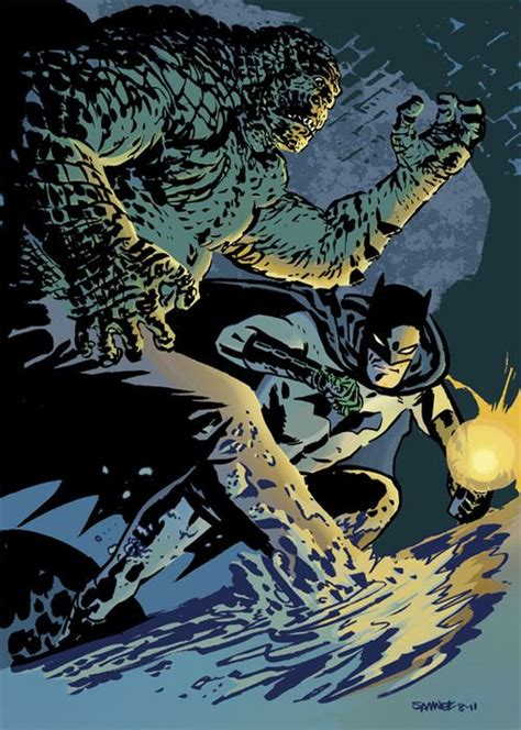 Sts45 Tas P Da Croco batman vs killer croc chris samnee batman vs