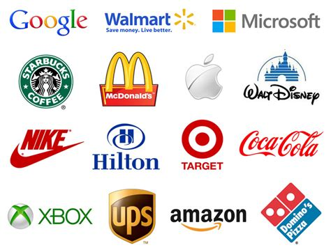 exles of the most recognizable logos in the world