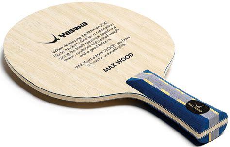 Yasaka Earlest Carbon thorntons table tennistable tennis blade yasaka max wood