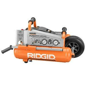 ridgid 1 2 hp 5 gallon mini wheelbarrow air compressor zrol50145mwd ebay