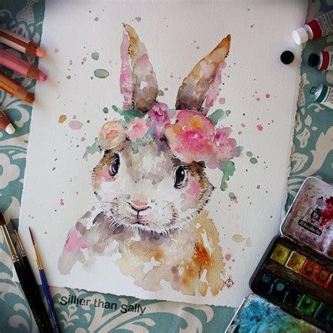 watercolor rabbit tutorial best 25 watercolor painting ideas on pinterest