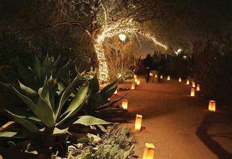 Desert Botanical Garden Luminaria Desert Botanical Gardens Luminarias Las Noches De Las Luminarias At Desert Botanical Garden