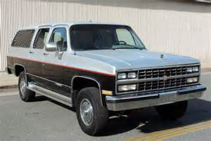 california original 1989 chevy suburban 2500 4x4 73k