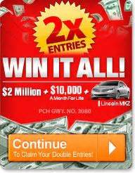 Publishers Clearing House Merchandise For Sale - pch sweepstakes enter to win the 10 000 000 00 publishers clearing house