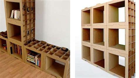 membuat rak buku dinding dari barang bekas jangan biarkan kardus jadi sah yuk jadikan rak buku