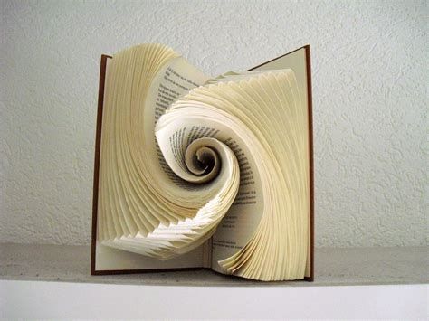 how to design your art book this secondhand store volunteer s book folding art will