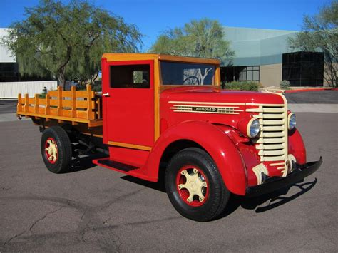 stake bed truck 1942 diamond t 201 s 1 ton stake bed truck 116942
