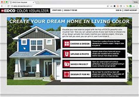edco color visualizer roofing siding boekett building supply