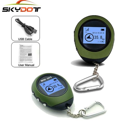 Spovan Gl004 Gps Tracker For Outdoor Traveling mini gps personal tracker small tracking device travel portable keychain locator outdoor