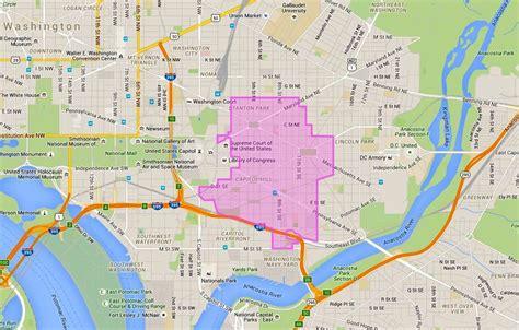 washington dc nightlife map where is capitol hill washington dc map