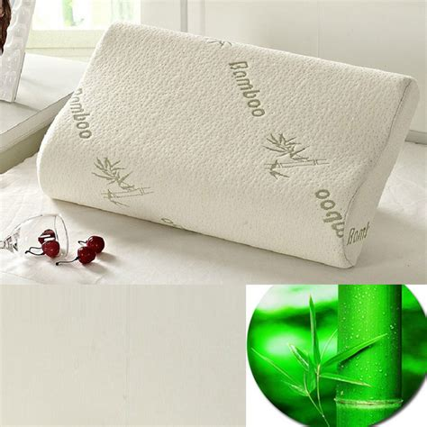 elevated bed pillows high quality latex pillow slow rebound material massage