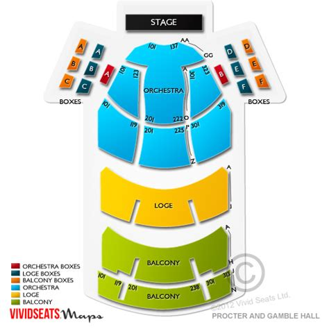 aronoff center seating aronoff center procter and gamble tickets aronoff