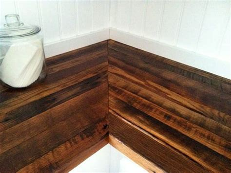 reclaimed wood countertops home decor