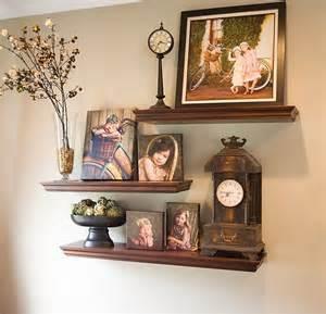 shelves for wall decor staggered shelves home decor