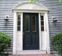 Decorative Exterior Door Moulding Repairing A Rotten Door Entry Thisiscarpentry