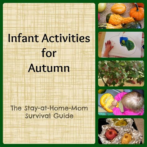 infant fall infant activities for autumn the stay at home