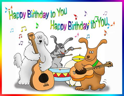 birthday card template dogs happy birthday card for you free printable greeting cards