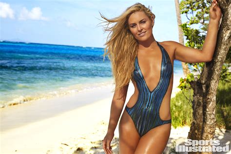libro sports illustrated swimsuit 2017 si swimsuit 2016 lindsey vonn works out on set in body paint