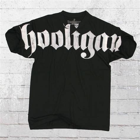 Holligan Shirt order now hooligan t shirt hooligan black