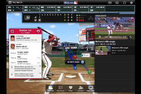 mlb tv apk top android baseball apps and