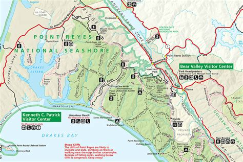 point reyes national seashore map thanksgiving backpacking ideas backpacking light