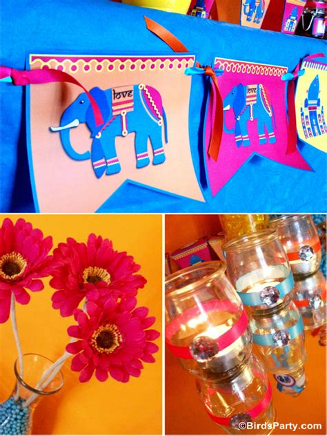 themed birthday party supplies online india a bollywood bling party