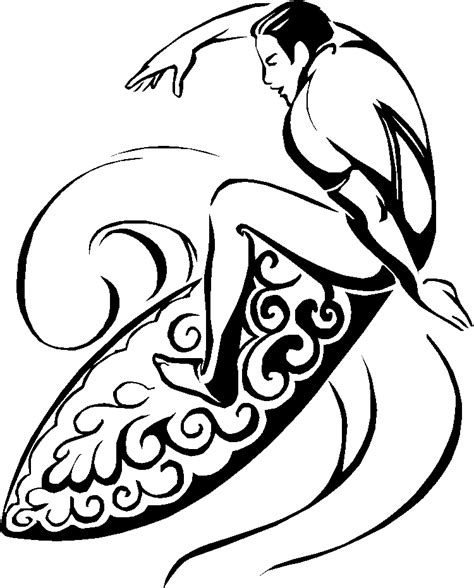 surfer coloring pages free surfing the waves coloring pages