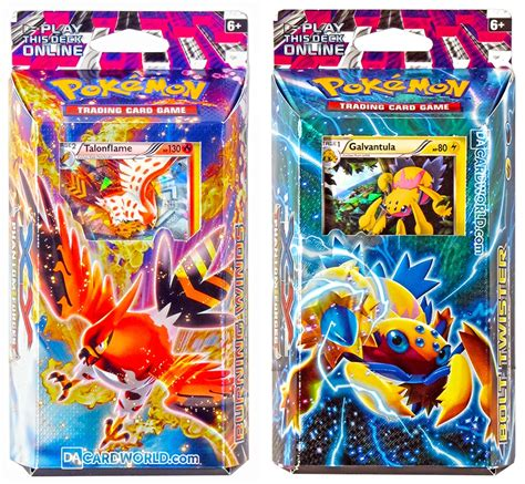 pokemon theme songs xy pokemon xy phantom forces theme deck set of 2 da card
