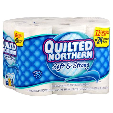 northern bathroom tissue quilted northern soft strong bathroom tissue unscented
