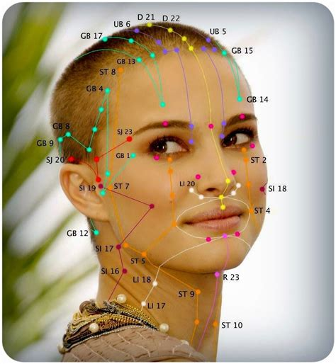 acupressure points for healthy skin facial acupressure acupuncture for beautiful life acupuncture facial