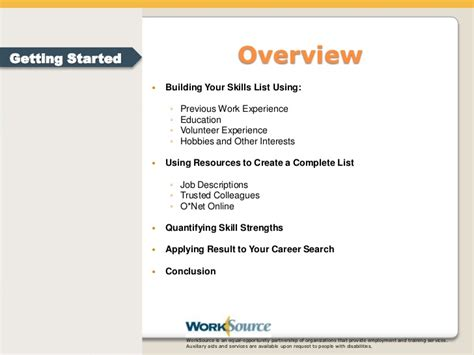 Transferable Skills Resume by Transferable Skills
