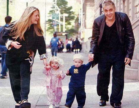 beverly d angelo child beverly d angelo al pacino with their twins anton james