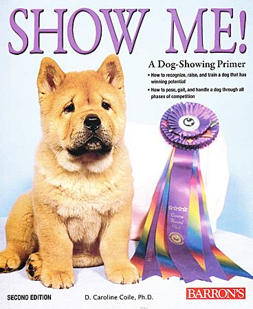 show me puppy show me a showing primer 2nd edition books ozpetshop